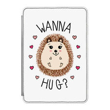 "Hedgehog Wanna Hug Case Cover for Kindle 6"" E-reader - Funny Valentines Day"