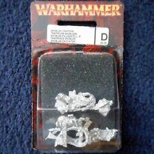 2005 Ogre Gnoblar Trappers G1 Grots Warhammer Kingdoms Citadel Ogor Goblin MIB