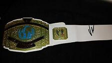 VINCE McMAHON signed WWE Championship Belt - proof
