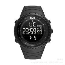 Digital Waterproof Sports Wrist Watch Men's Military Army Smart Watch PU Band