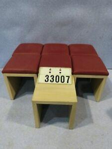 7 Stück Hocker Sitzhocker Barhocker für Café Bistro Bar Restaurant #33007