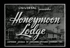HONEYMOON LODGE (1943) DVD DAVID BRUCE, HARRIET HILLIARD