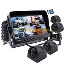 "9"" Monitor DVR Video Recorder Rear View Backup Camera Safety System 5 x Cameras"