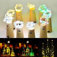 White Battery Power Operated Copper Wire Mini Fairy Light String Decor (10 LED)