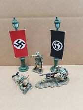 KING AND COUNTRY GERMANY FALLSCHIRMJAGER + LEIBSTANDARTE 5 PIECE SET