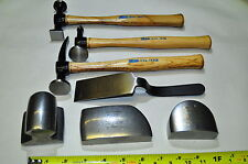 Martin 647K 7 Piece Body and Fender Repair Tool Set with Hickory Handles USA