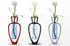 ARTORI Design Primavera Water Bottle Vase Recycling Eco Friendly White Black Red