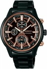 WIRED Men's Chronograph Watch AF8T31X By SEIKO