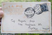 1930 140) FUTURISMO LA PIE' AUTOGRAFO DI LUCIANO DE NARDIS - FOLKLORE ROMAGNOLO