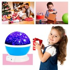Rotating LED Light Projector Star Unicorn Sky Baby Kids Night Lamp Xmas Gift
