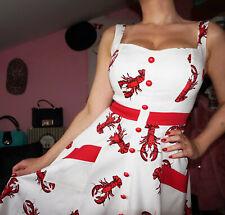 ♥ Rockabilly Petticoat Kleid Swing COLLECTIF XS 34 / S 36 ♥