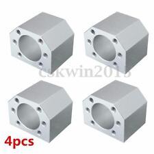4Pcs Aluminum Ballscrew Nut Housing Mounting Bracket Holder For 1604 1605 1610