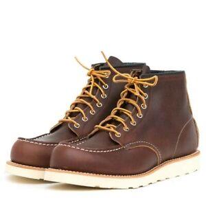 RED WING MOC TOE BOOTS 8138 UK10 US11 BRIAR OIL SLICK