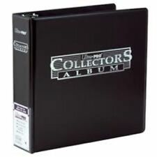 """Lot of 2 Ultra Pro 3"""" Collectors Collector's Trading Card  Album Black Binder"""
