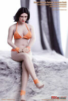 """TBLeague S28A 1/6 Female Phicen Pale Mid Bust Body Model 12"""" Seamless Figure Toy"""