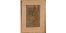 Estampe japonaise originale et signé de TOYOSHIRO MAKAWA 1775-1828