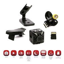 Mini Spy Camera with 32GB micro SD Card, Night Vision Motion Detection, Spy Cam