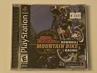 🔥 DOWNHILL MOUNTAIN BIKE RACING 🔥 PS1 PlayStation 1 PSX GAME 💯COMPLETE MINT