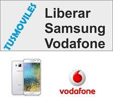Liberar Samsung Galaxy Vodafone Todos los modelos del mercado S3 S4 S5