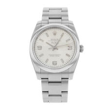 Rolex Gloss Stainless Steel Strap Wristwatches