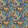 Springs Disney Toy Story 65502 Packed Comic Book  Cotton Fabric BTY