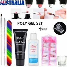 Nail Art Tools Care Starter Kit Acrylic Powder Liquid UV GEL Brush Tips SET O5