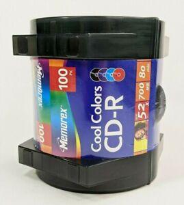 Memorex Cool Colors CD-R 100 Pack