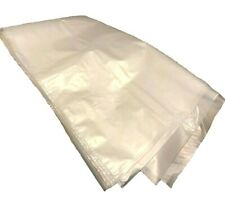 More details for extra heavy duty clear polythene bags (20 x 30 inch) plastic 500g rubble sack kt