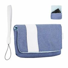 JJC CB-R1DSB Microfiber Camera Pouch Soft Case for Sony RX100I-VI,G7X 3 Sky Blue