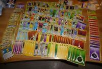 LOT DE 180 CARDS/CARTES POKEMON MONSTERS CARD GAME JAPONAISE/JAPANESE ! WOWWW