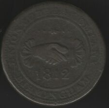 More details for 1812 birmingham union copper company penny token   pennies2pounds