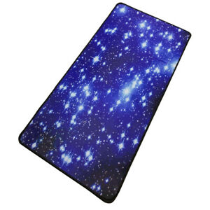 Mouse Pad Starry Sky Picture Locking Edge Large Anti-Slip Gaming Mouse Mat K8K4