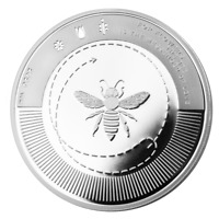 LE GRAND MINT SILVER BEE SILBER BIENE 2020 1 OZ 9999 COIN Proof-Like 2. Ausgabe
