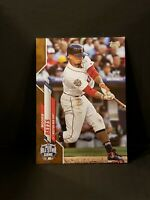 2020 Update Base Gold Foil #U-268 Mookie Betts - Boston Red Sox