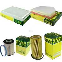 MANN-FILTER PAKET Volvo V60 S80 II AS 2.4 D D5 BW AWD D3