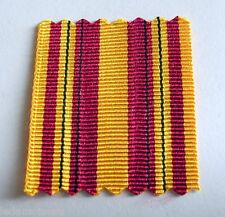 Petit ruban 40 mm pour confection de rappel pour la médaille de Dunkerque.