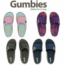 Gumbies Islander Slides Ladies Womens Mens Slide Sandals Canvas Beach Summer