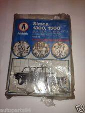 SIMCA 1300,1500 1963-73 autobooks Manuale Nuovo Libro Serie 970