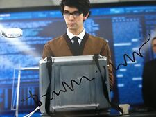 BEN WHISHAW - JAMES BOND  - Q - SKYFALL SIGNED COLOUR PHOTOGRAPH