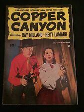 FAWCETT MOVIE COMIC #2: COPPER CANYON VG+ Condition