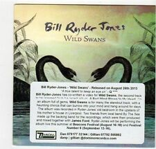 (EZ264) Bill Ryder Jones, Wild Swans - 2013 DJ CD