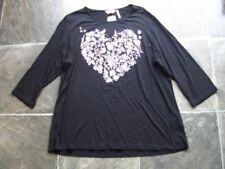 Regular Size Viscose Floral 3/4 Sleeve Tops & Blouses for Women