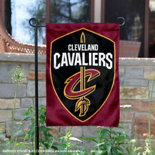 Cleveland Cavaliers Shield Garden Flag and Yard Banner