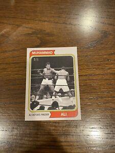 2021 Topps Muhammad Ali The People's Champ  #44 Grey Parallel /5 Ali Vs Frazi