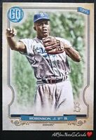 Jackie Robinson 2020 Topps Gypsy Queen Legends Of The Game Short-Print SP #320