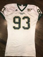 Game Worn Used Colorado State Rams Football Jersey #93 Russell XL