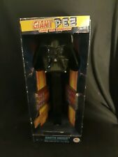 """Star Wars Darth Vader Giant 12"""" Pez Candy Roll Dispenser With Sound New In Box"""