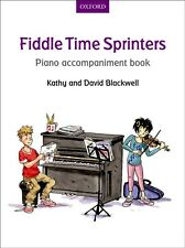 Fiddle Time Sprinters - Piano Accompaniment Book - Kathy & David Blackwell