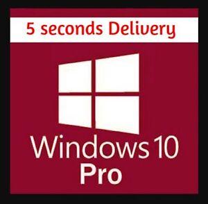 🅢Window🅢10 pro key 32/64 Bit ✔️ ORDER NOW 🅢  Genuine Key 1S DELIVERY  🅢