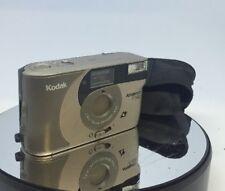 Kodak Advantix F350 Compact APS Film Camera. TESTED Comes With Case #122